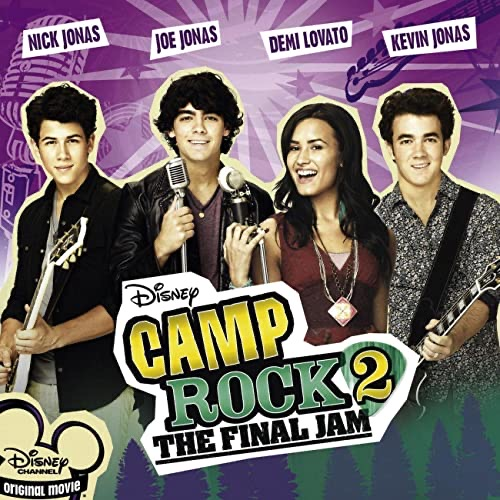 LUCIA GIL Camp Rock de Disney